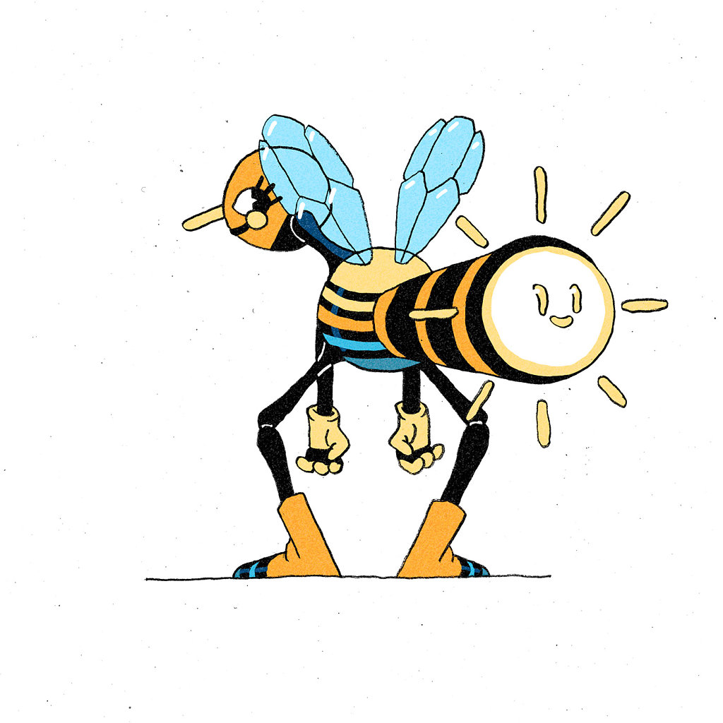 Spotlight Bee Wizard