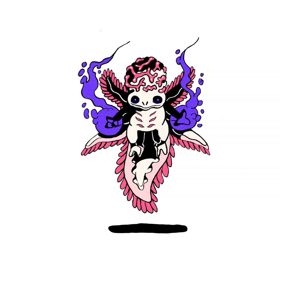 Super Baby Axolot Wizard