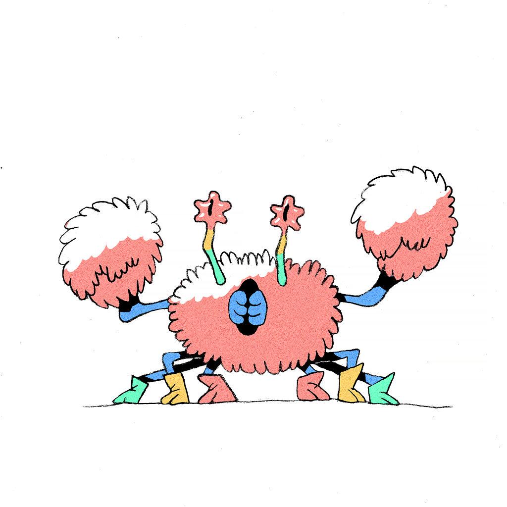Poodle Crab Wizar