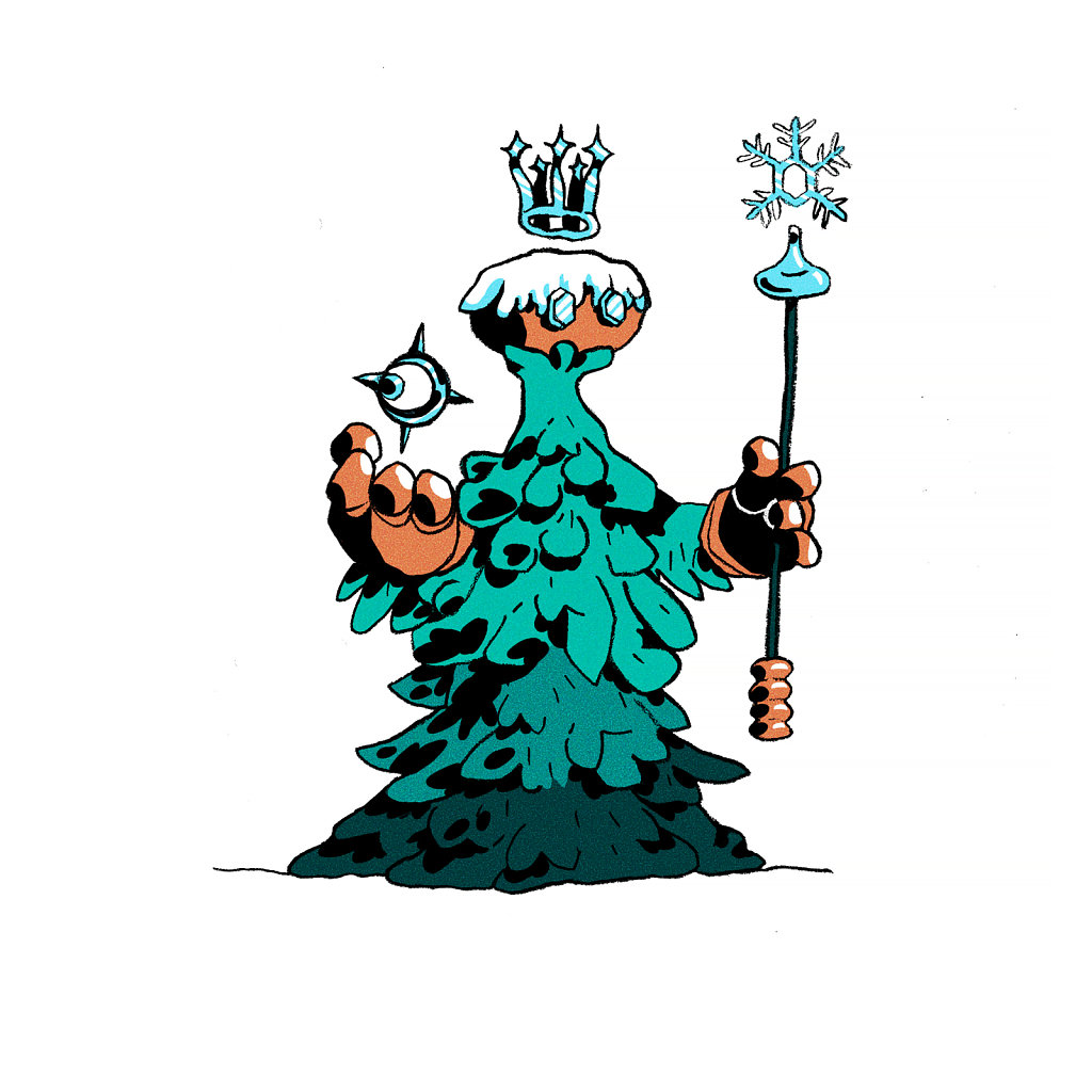 Frozen Princess Wizard
