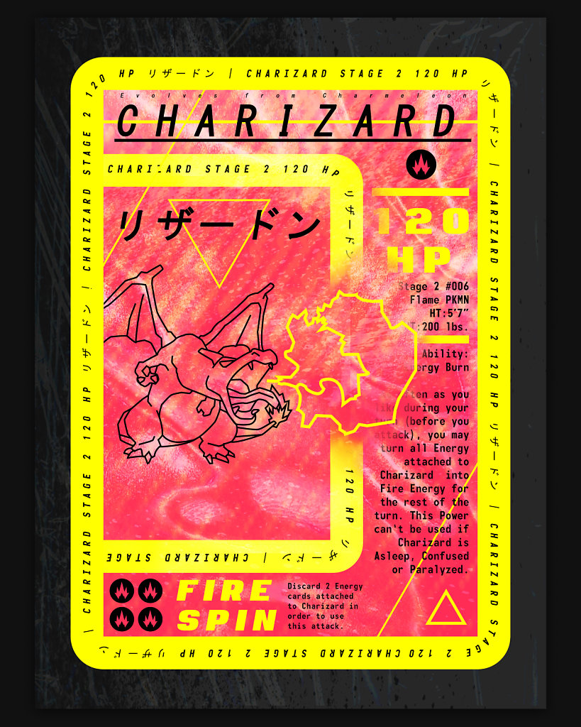Charizard 120HP