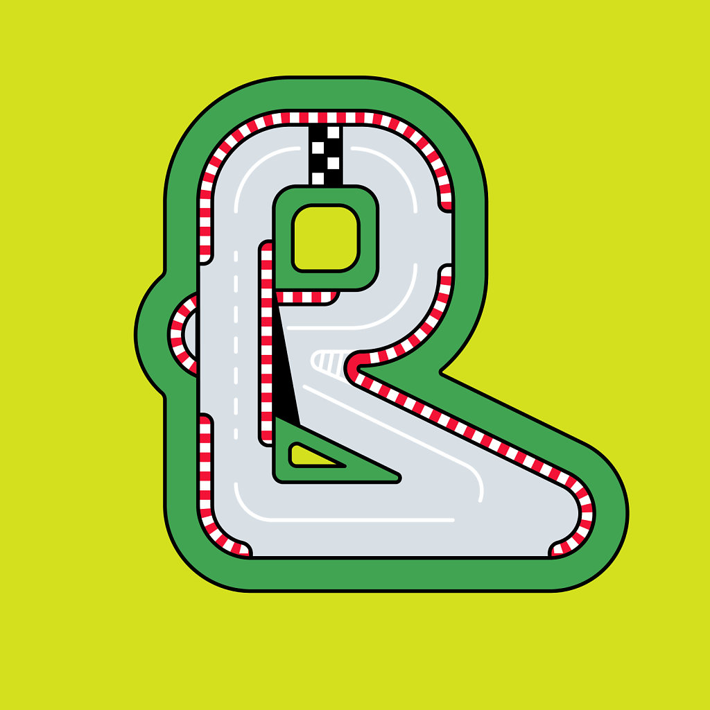 R for Racetrack